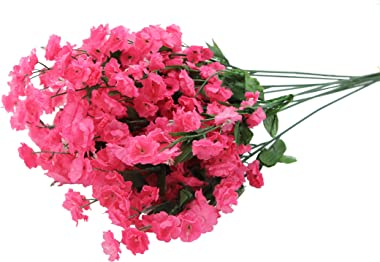 Admired By Nature Artificial Full Blooming Baby Breath Flowers Spray for Home, Wedding, Restaurant & Office Decoration Ar