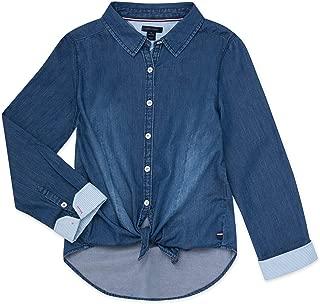 kids denim work shirt