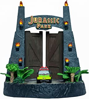 Factory Entertainment Jurassic Park Gates Environment Sculpture