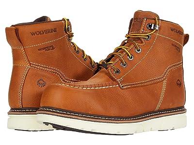 Wolverine I-90 DuraShocks Moc-Toe CarbonMAX 6 Work Boot (Tan) Men