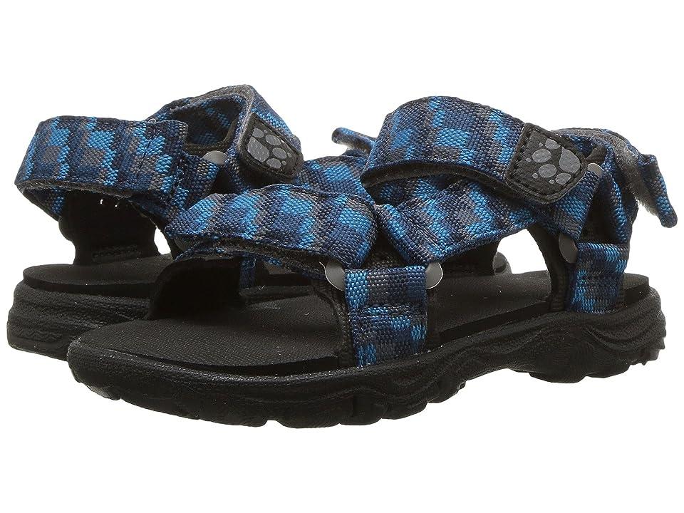 Jack Wolfskin Kids Seven Seas 2 Sandal (Toddler/Little Kid/Big Kid) (Glacier Blue) Boys Shoes
