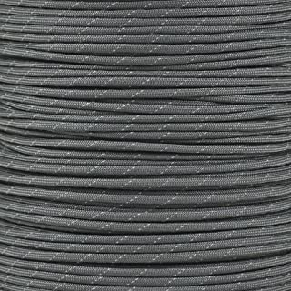 PARACORD PLANET Reflective Paracord Made of 100% Nylon with 7 Inner-Core Strands Available in 10, 25, 50,  100 Foot Lengths That is Made in The USA