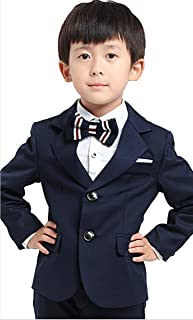 Happy snowflakel子供服フォーマル 男の子 フォーマルスーツ男の子スーツ 入学式 卒業式 七五三 結婚式 発表会 4点 セット