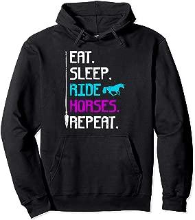 eat sleep ride repeat hoodie