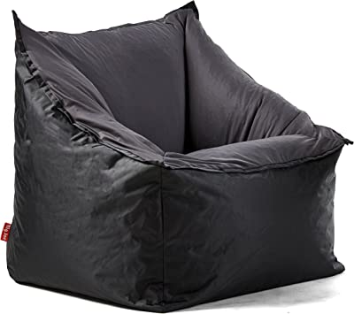 Amazon Com Big Joe Milano Bean Bag Chair Stadium Blue