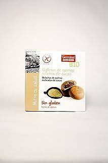 Galletas bio sin gluten de quinoa rellenas cacao, 200 g