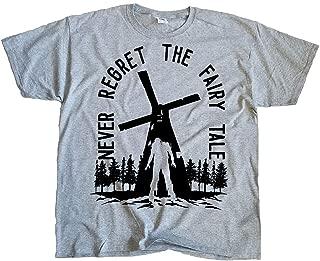 Men's Queen Carol and King Ezekiel Fairy Tale The Walking Dead Tee Shirt