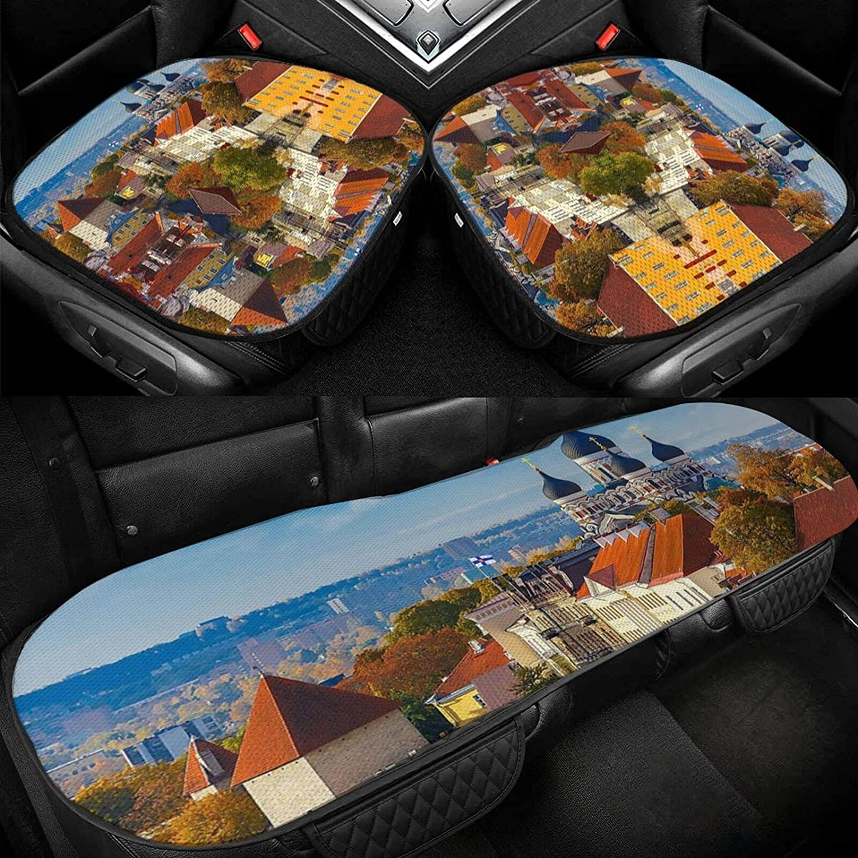 Max 52% OFF Tallinn Sacramento Mall Estonia Cityscape Car Seat Silk Cushion Ice Driver