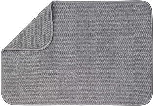 """XXL Dish Mat 24"""" x 18"""" (LARGEST MAT) Microfiber Dish Drying Mat, Super absorbent by Bellemain"""