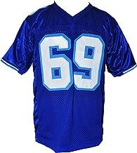 Billy Bob Coyotes Football w Patch Varsity Jersey Stitch XS-2XL Halloween