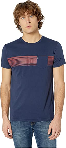 Chest Stripes Styled Tee