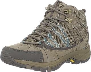 Hi-Tec Women's Harmony Mid Waterproof Trail Shoe,Light Taupe/Ultra