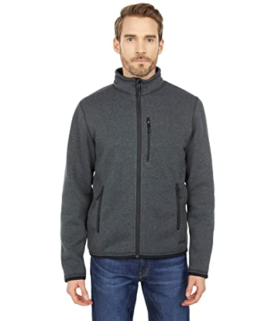 Filson Ridgeway Fleece Jacket (Charcoal Heather) Men