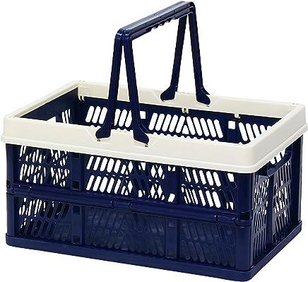 折叠 堆叠 容器盒 藏青色 Medium 400729905