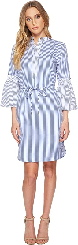 LAUREN Ralph Lauren - Striped Cotton Shirtdress