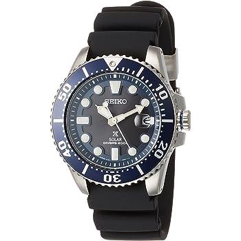 [セイコーウォッチ] 腕時計 プロスペックス ソーラーダイバーズ SBDJ019 ブラック