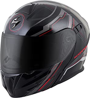 ScorpionExo EXO-GT920 Full Face Modular Helmet (Satellite Red, X-Large)