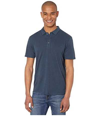 Threads 4 Thought Tri-Blend Baseline Polo (Midnight) Men