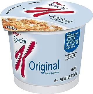 Special K Breakfast Cereal Cup Original, 1.25 oz(Pack of 60)