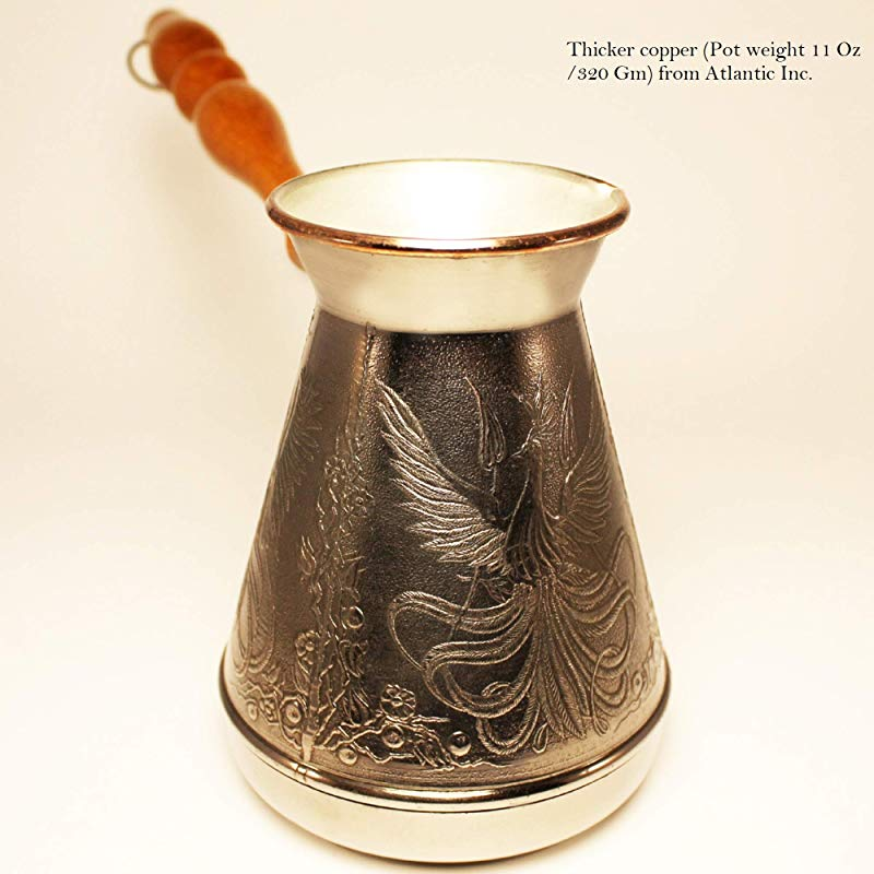Turkish Greek Coffee Pot Phoenix Volume 20 Oz 600 ML Ibrik Briki Cezve Turka