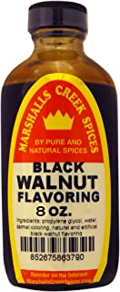 Marshall's Creek Spices BLACK WALNUT FLAVORING, 8 Ounce