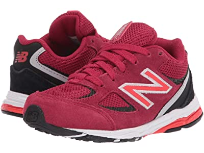 New Balance Kids IK888v2 (Infant/Toddler) (New Crimson/Black) Boys Shoes