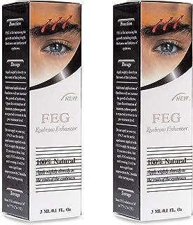 FEG Eyebrow Enhancer Growth Treatment Serum   Eyebrow Enhancing Serum to Help Lengthen, Thicken and Darken Your Eyebrows  ...