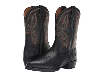 Ariat Bar Sour (Black Carbon) Cowboy Boots