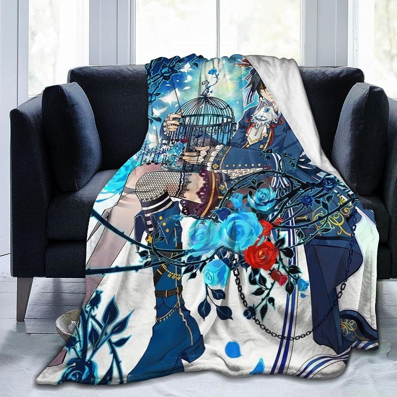 Anime Black Ciel Phantomhive Ranking TOP19 Flannel Reservation Blanket Comfortable