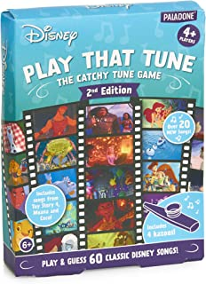 Paladone Music Guessing Game with Four Kazoos Disney Play That Tune 2nd Edition