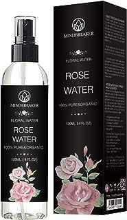 Organic Rose Water - Therapeutic Grade, Pure, Bulgarian, Hexane-free, Alcohol free - Best for Facial Toner, Skin, Hair, Bo...