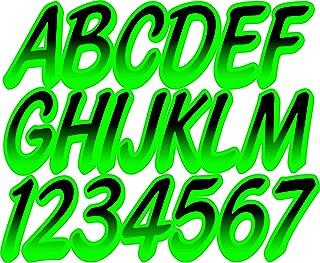 Stiffie Whipline Black/Electric Green 3