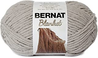 Bernat Blanket Yarn, 10.5 oz, Pale Grey, 1 Ball