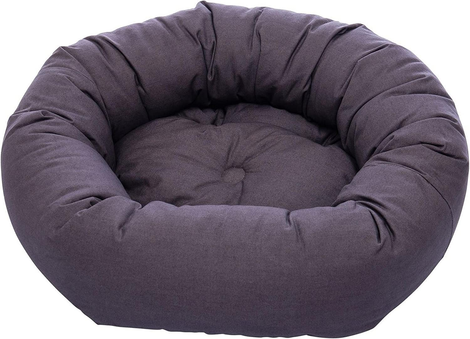 Dog Gone Smart Donut Pet Bed (Small) (Pebble Grey)