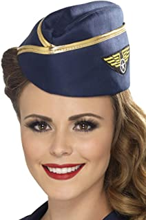 Smiffys Air Hostess Hat Size: One Size