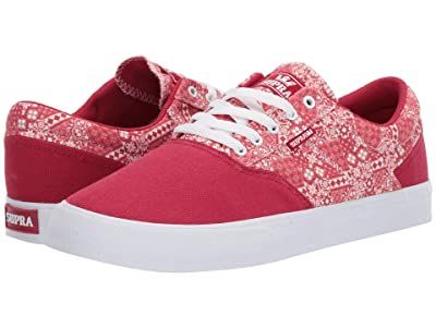 Supra Cobalt (Rose Print/White) Men