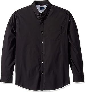 Men's Long Sleeve Button Front Comfort Flex Shirt