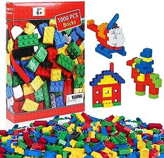 iNeego Bloques de Construcción 1000 Piezas Bloques de Construcción Infantil 3D Juegos..