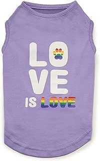 Zack & Zoey Love is Love UPF 40 Tank Dog Shirt