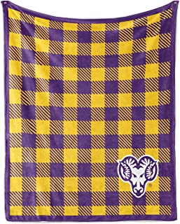 Official NCAA West Chester University Golden Rams - Light Weight Fleece Blanket 2 sizes