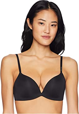 3fb6562772 Black. 15. Calvin Klein Underwear. Form Push-Up Plunge Bra.  52.00. 3Rated  3 stars3Rated ...