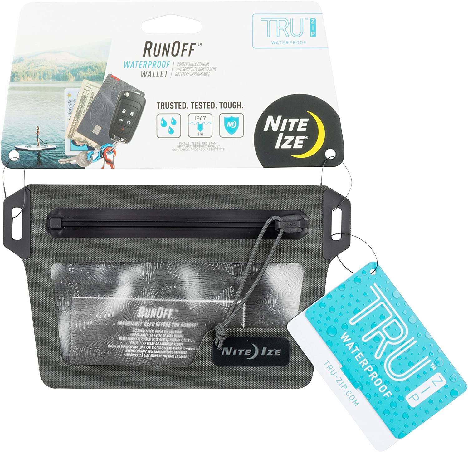 Nite Ize Runoff Waterproof Max 85% OFF Be super welcome Wallet Trusted Protection for Tough