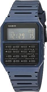 Casio Data Bank Quartz Watch with Resin Strap, Blue, 24.1...