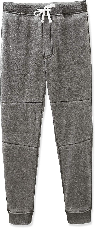 Vetemin Men's Casual Soft Pockets Fleece Jogger Sweatpants Active Jersey Pants
