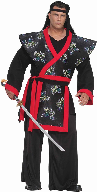 Forum Big-Tall Big Fun Super Samurai Costume