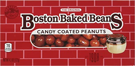 Boston Baked Beans Candy Coated Peanuts, 4.3 Ounce (Pack of 12)