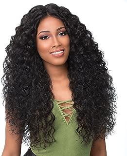 Sensationnel 100% Premium Fiber Boutique Bundle Synthetic Empress Lace Front Edge Wig - DEEP (1B)