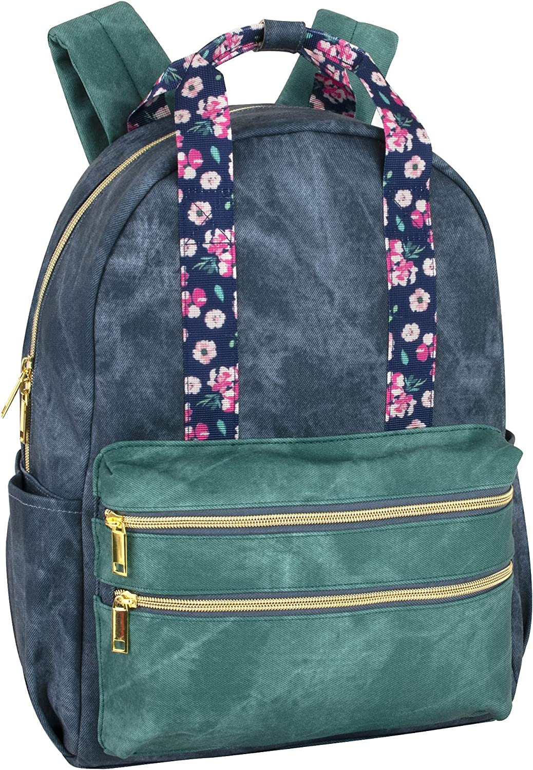 Women's and Girls Floral Vegan Travel for Backpack Schoo Leather OFFicial Max 84% OFF store