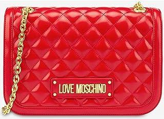 Love Moschino Borsa Quilted Nappa Pu, Tracolla Donna, 19x6x28 cm (W x H x L)