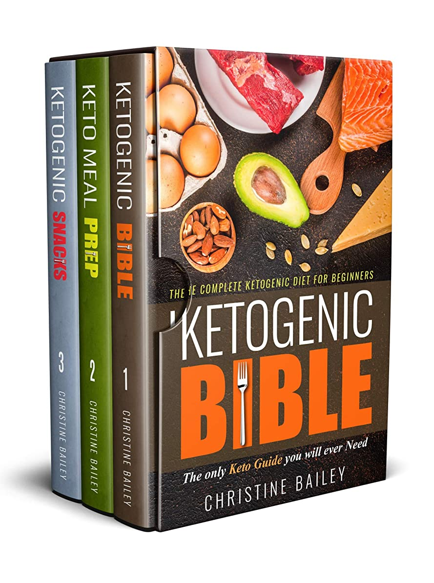 Ketogenic Diet Cookbook Bundle: Three Manuscripts In One Complete Guide: Includes Ketogenic Bible, Keto Meal Prep, & Ketogenic Snacks (English Edition)